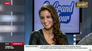 Malika Ménard dans le Grand Tour de l Equipe - 19/04/14 - 02