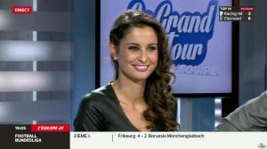 Malika Ménard dans le Grand Tour de l'Equipe - 19/04/14 - 08