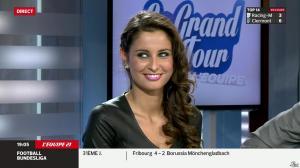 Malika Ménard dans le Grand Tour de l Equipe - 19/04/14 - 09