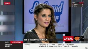 Malika Ménard dans le Grand Tour de l Equipe - 19/04/14 - 45
