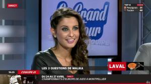 Malika Ménard dans le Grand Tour de l Equipe - 19/04/14 - 48
