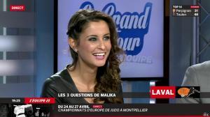 Malika Ménard dans le Grand Tour de l Equipe - 19/04/14 - 49