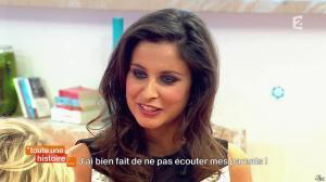 Malika Ménard dans Toute une Histoire - 24/04/14 - 02