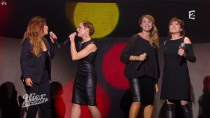 Natasha St Pier et Chimène Badi dans Hier Encore - 01/02/14 - 28