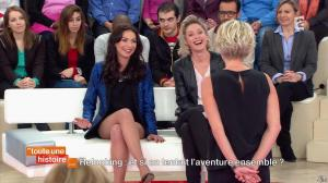 Sophie Davant et Laetitia Mendes dans Toute une Histoire - 26/02/14 - 05