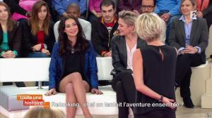 Sophie Davant et Laetitia Mendes dans Toute une Histoire - 26/02/14 - 06