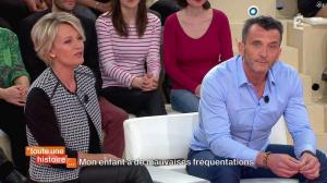 Sophie Davant dans Toute une Histoire - 09/04/14 - 01