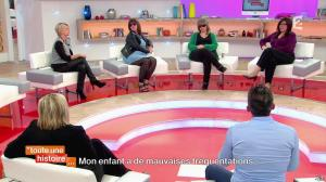 Sophie Davant dans Toute une Histoire - 09/04/14 - 10
