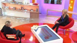 Sophie Davant dans Toute une Histoire - 28/02/14 - 10