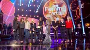 Virginie Guilhaume et Joyce Jonathan dans Une Femme un Artiste - 08/03/14 - 08