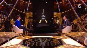 Alessandra Sublet dans Un Soir à la Tour Eiffel - 01/04/15 - 01