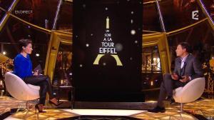 Alessandra Sublet dans Un Soir à la Tour Eiffel - 01/04/15 - 02
