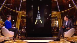 Alessandra Sublet dans Un Soir à la Tour Eiffel - 01/04/15 - 03