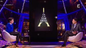 Alessandra Sublet dans Un Soir à la Tour Eiffel - 01/04/15 - 04