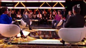 Alessandra Sublet dans Un Soir à la Tour Eiffel - 01/04/15 - 05