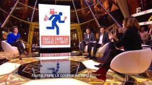 Alessandra Sublet dans Un Soir à la Tour Eiffel - 01/04/15 - 09