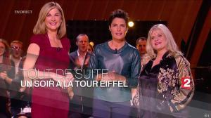 Alessandra Sublet dans un Soir à la Tour Eiffel - 03/06/15 - 01