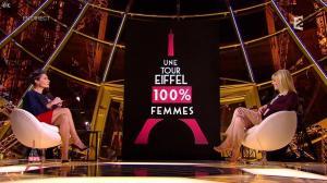 Alessandra Sublet dans un Soir à la Tour Eiffel - 04/03/15 - 02