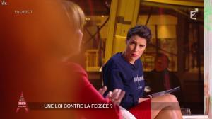 Alessandra Sublet dans un Soir à la Tour Eiffel - 04/03/15 - 04