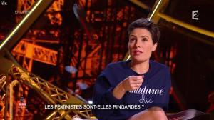 Alessandra Sublet dans un Soir à la Tour Eiffel - 04/03/15 - 07