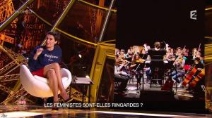 Alessandra Sublet dans un Soir à la Tour Eiffel - 04/03/15 - 08