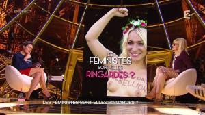 Alessandra Sublet dans un Soir à la Tour Eiffel - 04/03/15 - 11