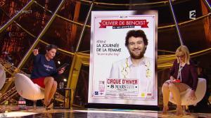 Alessandra Sublet dans un Soir à la Tour Eiffel - 04/03/15 - 14
