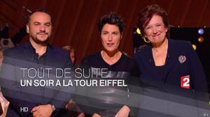 Alessandra Sublet dans Un Soir à la Tour Eiffel - 06/05/15 - 01
