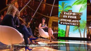 Alessandra Sublet dans Un Soir à la Tour Eiffel - 18/03/15 - 10