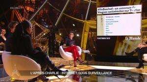 Alessandra Sublet dans un Soir à la Tour Eiffel - 25/02/15 - 14
