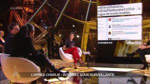 Alessandra Sublet dans un Soir à la Tour Eiffel - 25/02/15 - 15