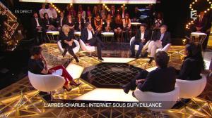 Alessandra Sublet dans un Soir à la Tour Eiffel - 25/02/15 - 16