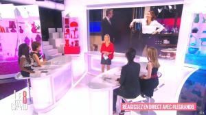 Laurence Ferrari, Hapsatou Sy, Audrey Pulvar et Elisabeth Bost dans le Grand 8 - 16/04/15 - 01