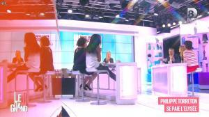 Laurence Ferrari, Hapsatou Sy et Audrey Pulvar dans le Grand 8 - 11/03/15 - 11