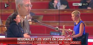 Laurence Ferrari dans Tirs Croisés - 19/05/15 - 04