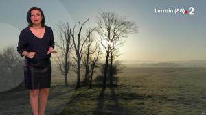 Anaïs Baydemir à la Météo du Soir - 25/03/19 - 02
