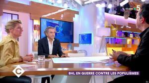 Anne-Elisabeth Lemoine dans C à Vous - 28/02/19 - 02