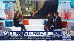 Aurélie Casse et Nina Godart dans Week-End Première - 10/02/19 - 05