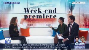 Aurélie Casse et Nina Godart dans Week-End Première - 10/02/19 - 06