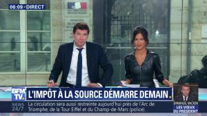 Aurélie Casse dans Première Edition - 31/12/18 - 04