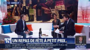 Aurélie Casse dans Première Edition - 31/12/18 - 05