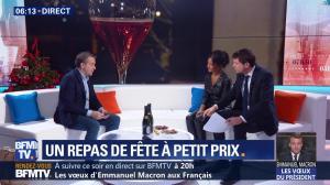 Aurélie Casse dans Première Edition - 31/12/18 - 06