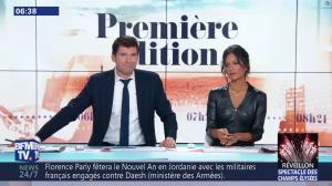 Aurélie Casse dans Première Edition - 31/12/18 - 11