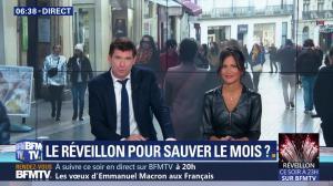 Aurélie Casse dans Première Edition - 31/12/18 - 12