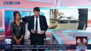 Aurélie Casse dans Première Edition - 31/12/18 - 14