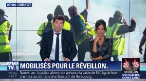 Aurélie Casse dans Première Edition - 31/12/18 - 15