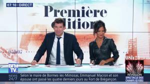 Aurélie Casse dans Première Edition - 31/12/18 - 18