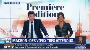 Aurélie Casse dans Première Edition - 31/12/18 - 22