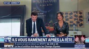 Aurélie Casse dans Première Edition - 31/12/18 - 25