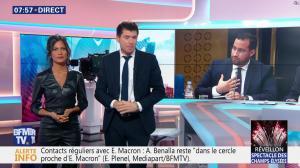 Aurélie Casse dans Première Edition - 31/12/18 - 26